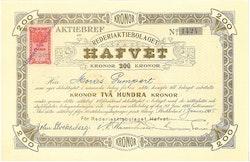 Rederi AB Hafvet