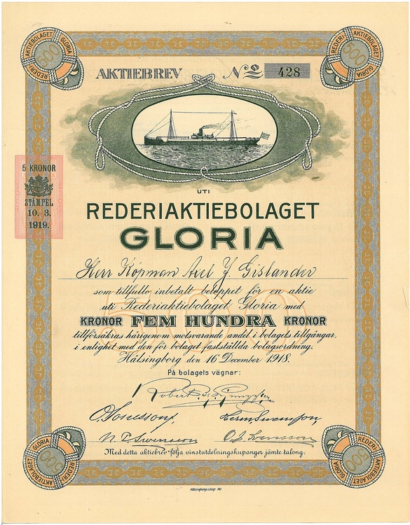 Rederi AB Gloria