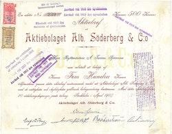 Alb. Söderberg & C.o, AB