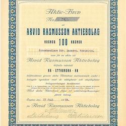 Arvid Rasmusson AB