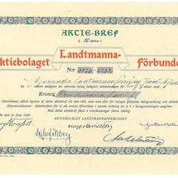 Landtmanna förbundet,  AB