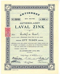 Laval Zink, AB
