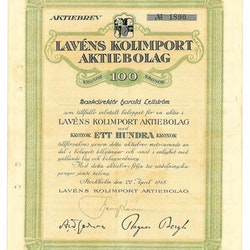 Lavéns Kolimport AB