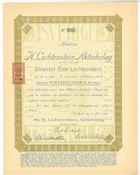Lichtenstein AB H.
