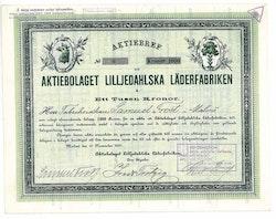Lilljedahlska Läderfabriken, AB