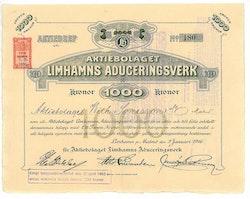 Limhamns Aduceringsverk, AB