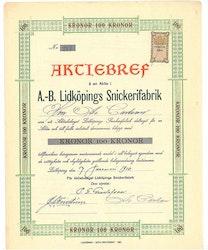 Lidköping Snickerifabrik, AB