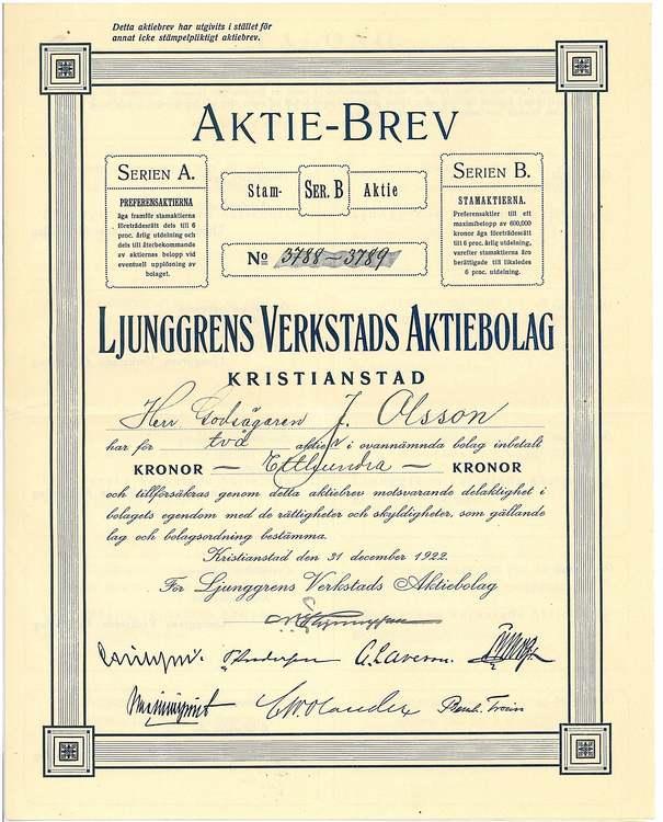 Ljunggrens Verkstads AB