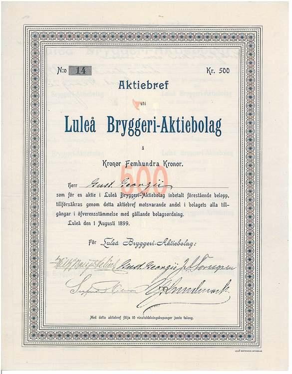 Luleå Bryggeri AB
