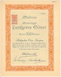 Lundgrens Söner, AB