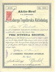 Lyckebergs Tegelbruks AB