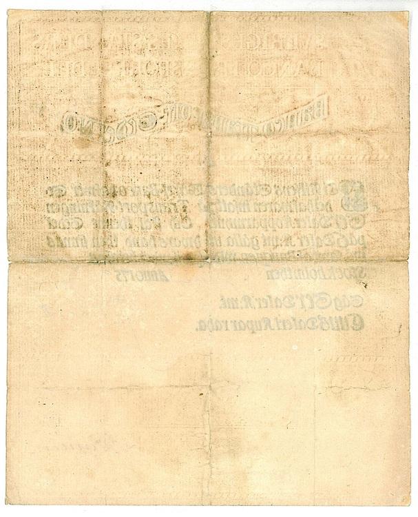 6 Daler Kopparmynt, 1759