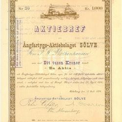Ångfartygs AB Sölve