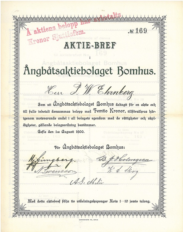 Ångbåts AB Bomhus