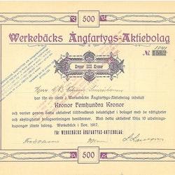 Werkebäcks Ångfartygs AB