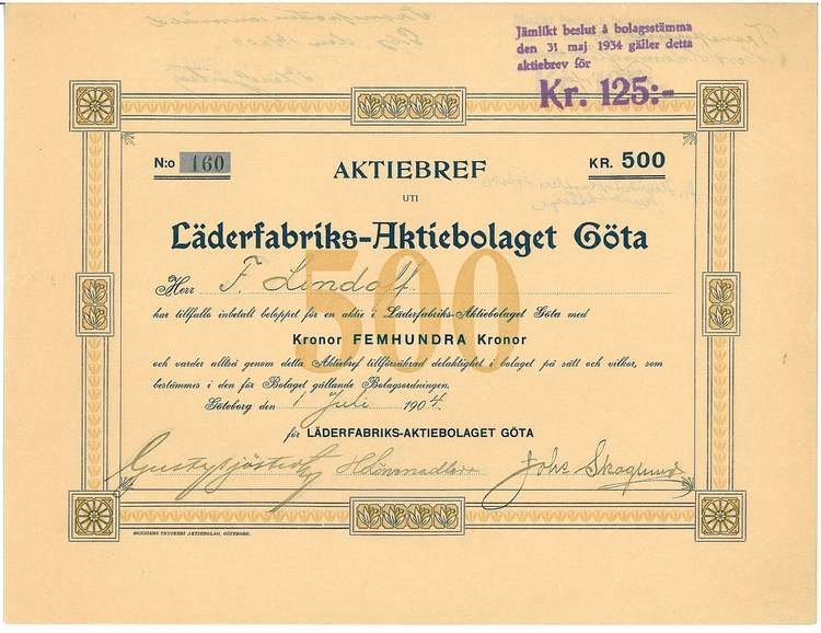 Läderfabriks AB Göta