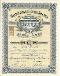 Malmö Bageri AB, 1921