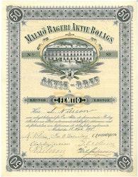 Malmö Bageri AB, 1895