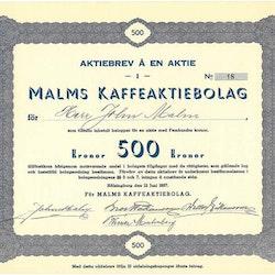 Malms Kaffe, AB