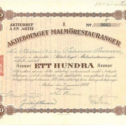 Malmörestauranger, AB