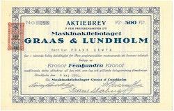 Maskin AB Graas & Lundholm
