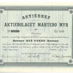 Martebo Myr, AB