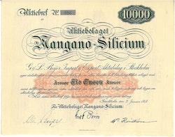 Mangano-Silicium, AB
