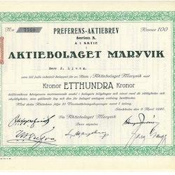 Maryvik, AB
