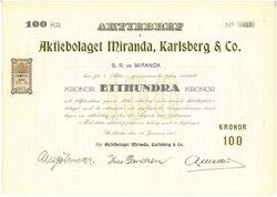 Miranda, Karlsberg & Co. AB
