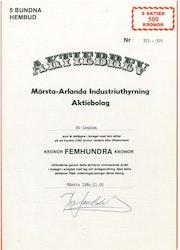 Märsta-Arlanda Industriuthyrning AB