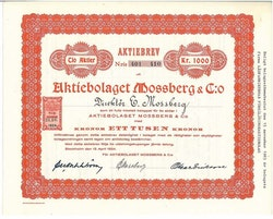 Mossberg & Co, AB