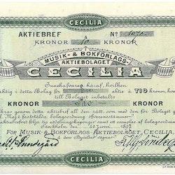 Musik-& Bokförlags AB Cecilia, 1897
