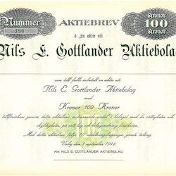 Nils E Gottlander AB