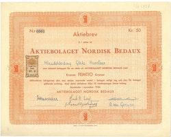 Nordisk Bedaux, AB