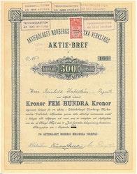 Norbergs Mekaniska Verkstads AB, 1911