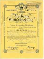 Norbergs Gruf AB, 100 kr