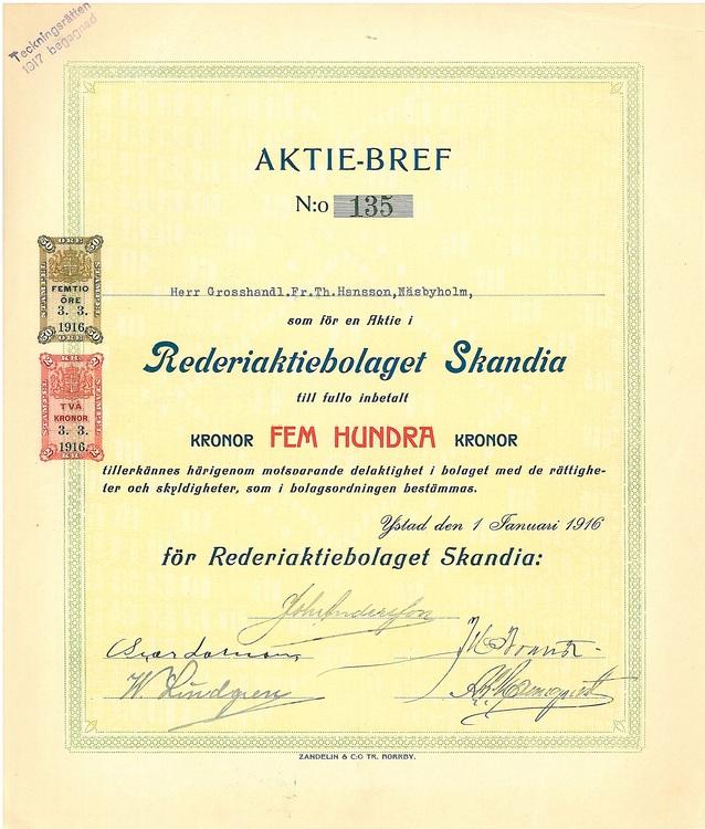 Rederi AB Skandia
