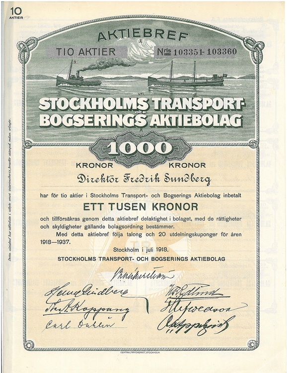 Stockholms Transport Bogserings AB