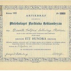 Nordiska Reklambyrån, AB