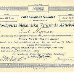 Nordqvist Mek. Verkstads AB