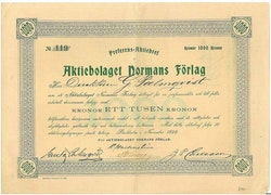 Normans Förlag, AB, 1899
