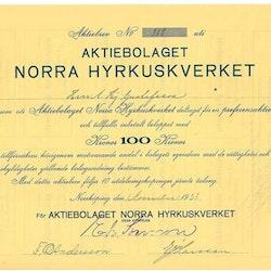 Norra Hyrkuskverket, AB