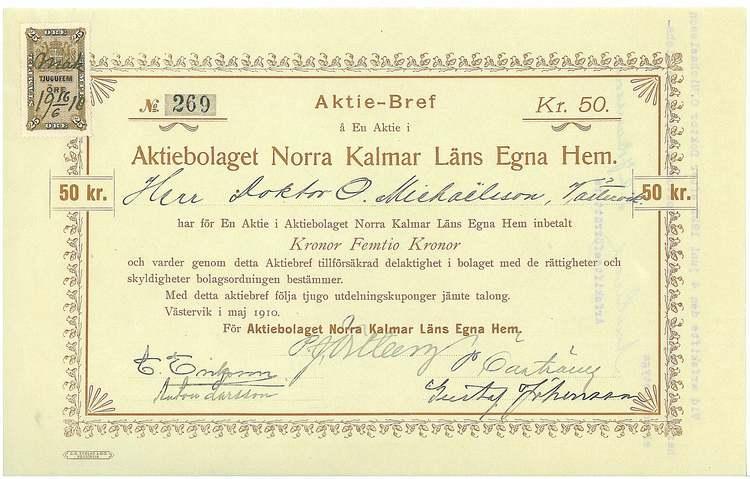 Norra Kalmar Läns Egna Hem, AB