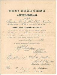 Norrala Hushålls-Förenings AB, 1868