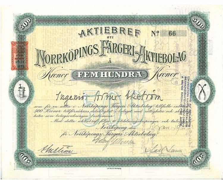 Norrköpings Färgeri AB