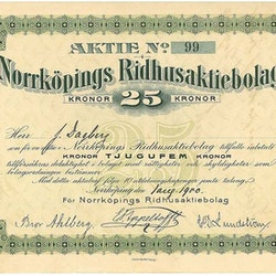 Norrköpings Ridhus AB
