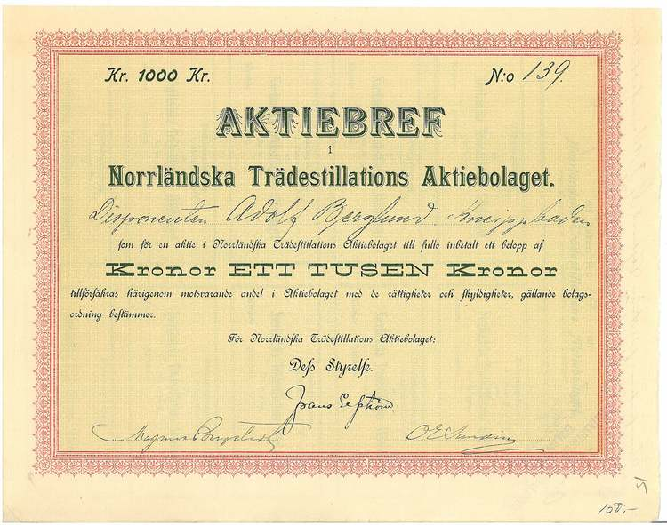 Norrländska Trädestillations AB
