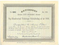 Ny Illustrerad Tidnings AB af år 1891