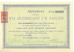 Nya AB J.W. Haglund, 1000 kr