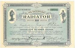 Nya AB Radiator